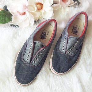 Vans | Blue/Red Sneakers
